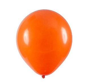 Balão Látex - 9 Polegadas Tangerina  - 50 unidades