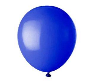 Balão Látex - 8 Polegadas - Azul royale - 50 unidades