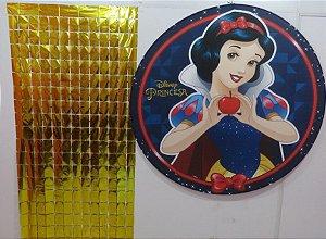 Cortina Shimmer Lançamento 2m Altura x 1m Largura - 1 Unidade - Dourado