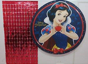 Cortina Shimmer Lançamento 2m Altura x 1m Largura - 1 Unidade - Vermelho