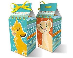 Caixa Surpresa O Rei Leão Caixa Leite 08un.