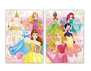 Kit Decorativo Princesas Disney - 2 Itens