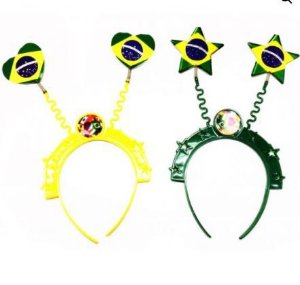 Tiara do Brasil Coração e Estrela