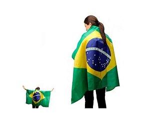 Fantasia | Bandeira Brasil P/ Vestir