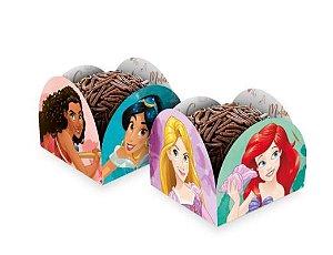 Porta Forminha 9,5x9,5cm Princesas Disney 50 Un.