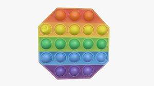 Painel Pop it - Octógono 3D