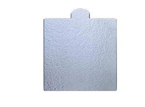 Base laminada quadrada 8X8 prata C/20 Regina