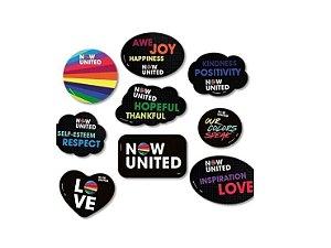 Now United Kit Placas - Com 9 Unidades - Festcolor