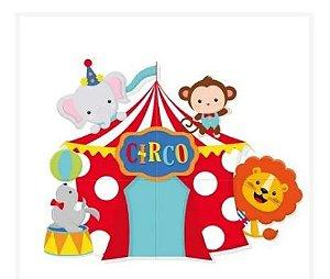 Painel 4 Lâminas - Festa Circo