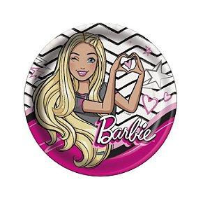 Prato Redondo Barbie - 18cm