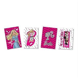 Quadro Decorativos Festa Barbie - 4 Unidades - Festcolor