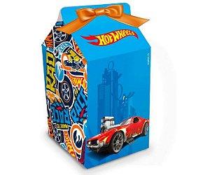 Caixa Milk Festa Hot Wheels - 8 Unidades