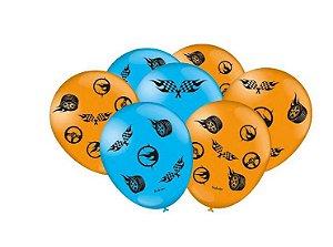 Balão Especial Festa Hot Wheels - 25 Unidades -