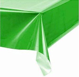 Toalha de Mesa Plástica -  Verde