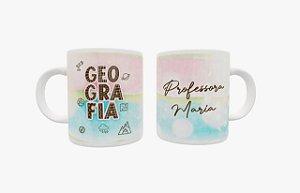 Caneca Cerâmica - Melhor Professora do Mundo- Dia dos Professores