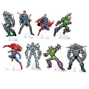 Decoração de Mesa - Superman - 08 unidades