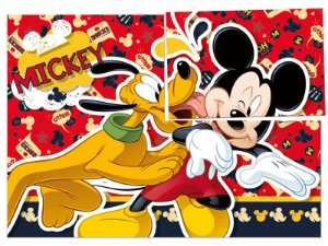 Painel 4 Folhas - Mickey Mouse Clássico