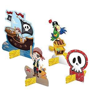 Decoração de Mesa - Piratas - 08 unidades