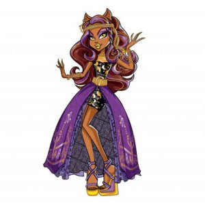 Personagem articulado Moster High Clawdeen