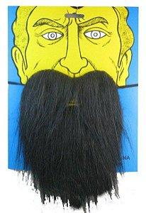 Barba e Bigode - Preta