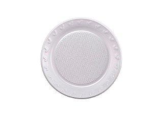 Prato Descartável Premium - Branco - 15 cm