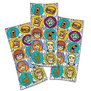 Adesivo Redondo - Scooby Doo - 03 cartelas