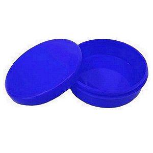 Latinha Plástica - Azul Escuro - 10 unidades