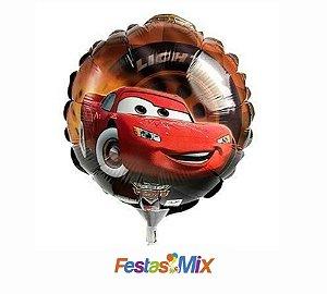 Balão Metalizado - Carros - 9 polegadas