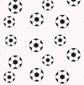TNT Estampado - Bola de Futebol - 01 Metro