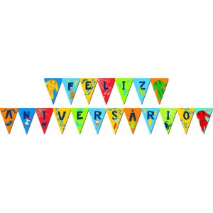 Faixa de Feliz Aniversário - DPA