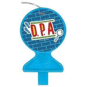 Vela de aniversário Plana - DPA