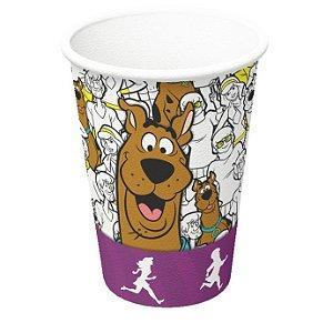 Copo de Papel 200ml - Scooby Doo - 08 unidades