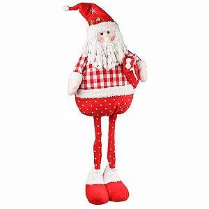 Boneco Papai Noel em Pé Candy - 71 cm