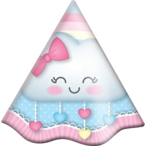 Chapéu de Aniversário - Chuva de Amor - 08 unidades
