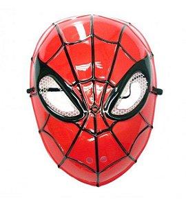 Máscara  Plástica Rosto Inteiro - Homem Aranha