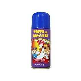Tinta Spray de Cabelo - Azul