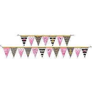 Faixa Decorativa - Flamingo