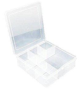 Caixa Organizadora para Guloseimas - 6 divisórias - 1 unidade