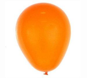 Balão Latex  Neon nº9 - Laranja Neon