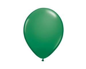 Balão Redondo Látex N° 8 - Verde - Art Latex