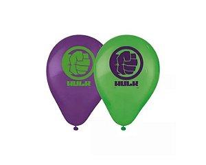 Balão Látex n° 9 Hulk - 25 Unidades