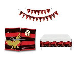 Kit Decoração de Festa - Flamengo