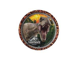 Prato de Papel - Jurassic World 2 - 08 unidades