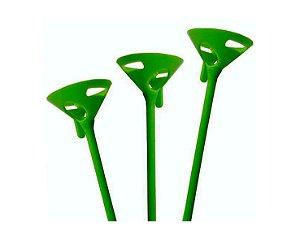 Suporte Pega Balão -  Verde com 10 und