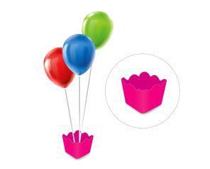 Cachepot com pega balão - Rosa Pink