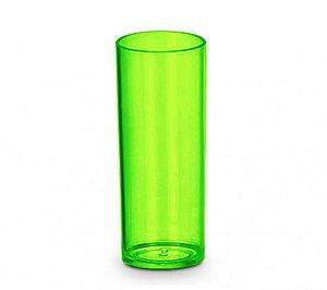 Copo Acrílico Long Dring - 300ml -  Verde Neon