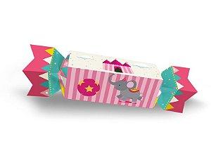 Caixa Bala Pequena - Circo Rosa