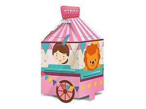 Caixa Surpresa - Circo Rosa