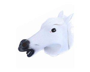 Máscara  Latéx de Cavalo Branca