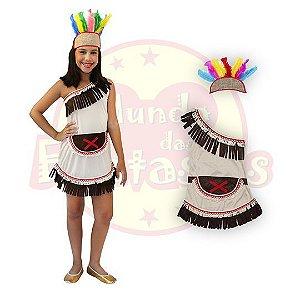 Fantasia Infantil índia Vestido - 6 anos